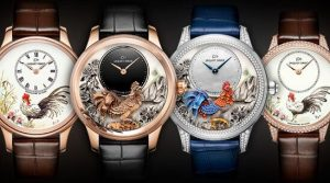 jaquet droz petite heure minute year of the rooster watches