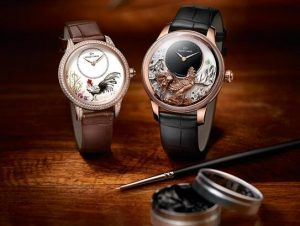 jaquet droz year of the rooster dials