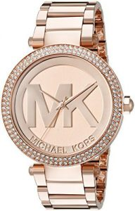 replica-michael-kors-womens-parker-rose-gold-tone-watch-192x300