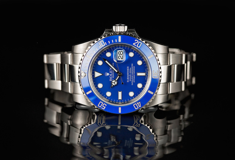 Rolex-White-Gold-Blue-Submariner-116619