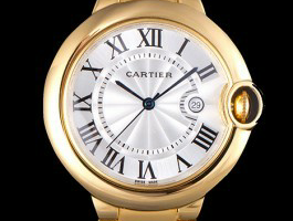 42 mm White Dial Cartier Ballon Bleu Replica Review