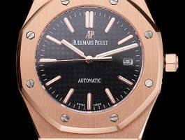 Black Dial Swiss Audemars Piguet Royal Oak Replica Review