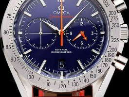 Blue Dial Omega Speedmaster Replica Review