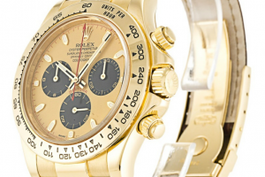 40MM Yellow Gold Case Brown Alligator Bracelet Rolex Daytona 116518 Replica Review