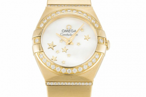 White Dial Ladies Omega Constellation Replica Review