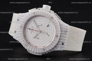 HUBLOT BIG BANG CAVIAR WHITE DIAL REPLICA WATCH