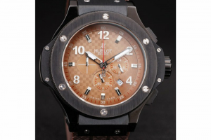 Hublot Big Bang King Cappuccino Black Dial Watch Replica